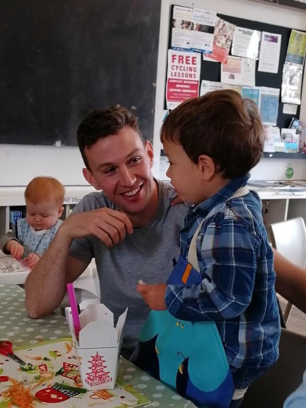 Cooking classes in nurseries