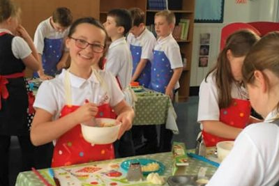 Cooking classes for schools